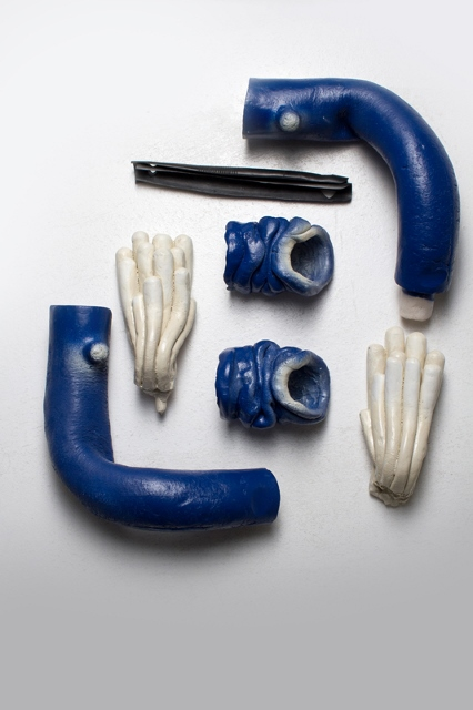 Bleu Retroussé Détail