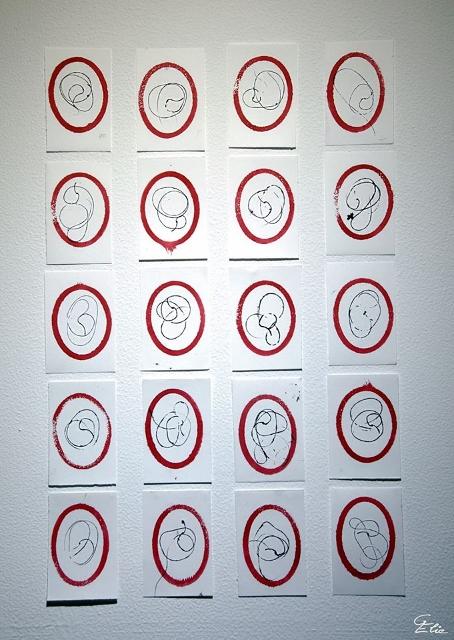 Exposition Personnelle Sandrine Stahl - Les P'tits Papiers
