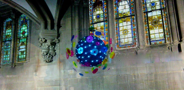 Origin'elle, Installation Au Temple Saint Etienne Mulhouse